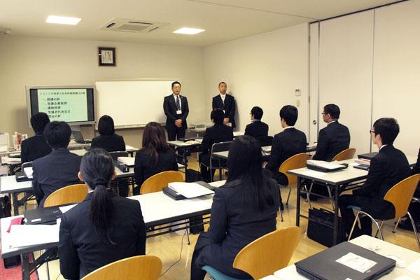株式会社ワコムアイティ 2015年度新入社員研修(Rubyコース)開講式