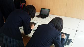 株式会社ワコムアイティ 情報科学高校企業見学の様子2