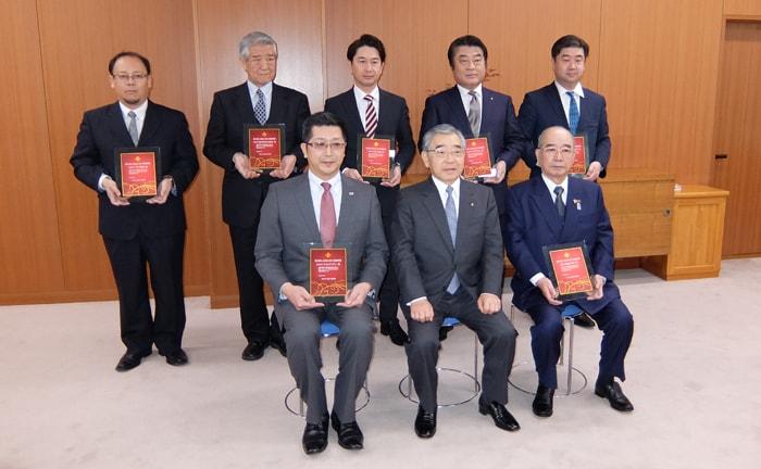 株式会社ワコムアイティ 「しまねいきいき雇用賞」表彰式の様子3